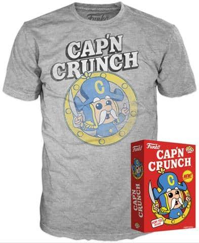 Funko Cereal Tee Capn Crunch