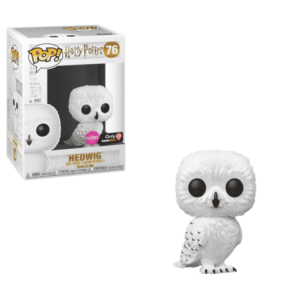 Funko Harry Potter Flocked Hedwig