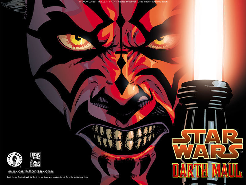 Star Wars Characters Darth Maul. David Yardin posts his own