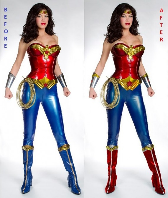 From ...  sc 1 st  Bleeding Cool & Fixing The Wonder Woman Costume (UPDATED) - Bleeding Cool News And ...