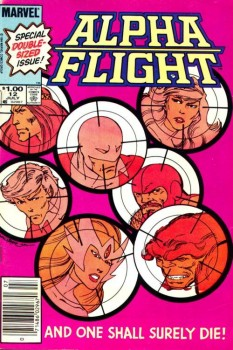 Alpha Flight, Vol. I, #12