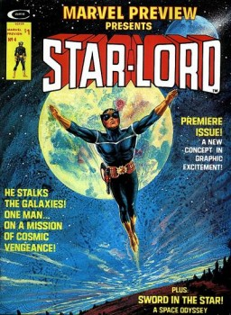 Star-Lord first appearance in Marvel Preview 4