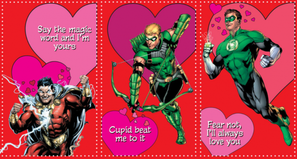 the dc valentine cards from young romance new 52 valentine's day, Ideas