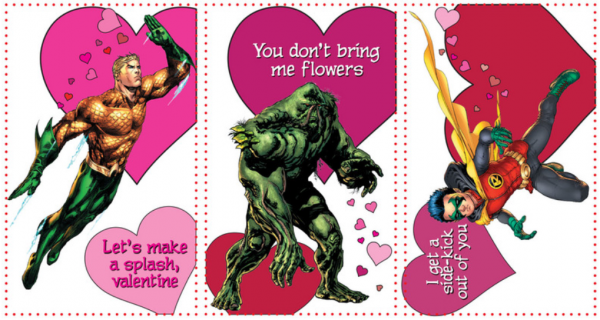 The DC Valentine Cards From Young Romance New 52 Valentines Day – Batman Valentines Day Card