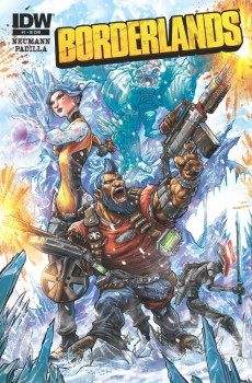 Borderlands-IDW cover