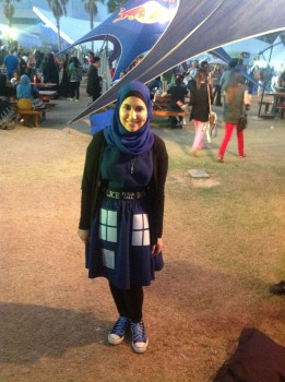 MEFCC Tardis dress