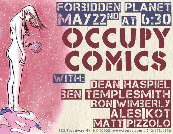Occupy Comics Poster FP