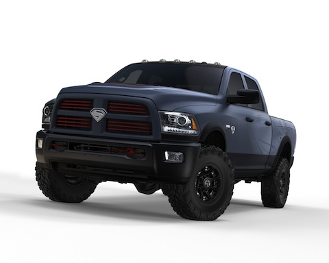 RAM Powerwagon_Superman_Front_Jeff_GRAPHIC