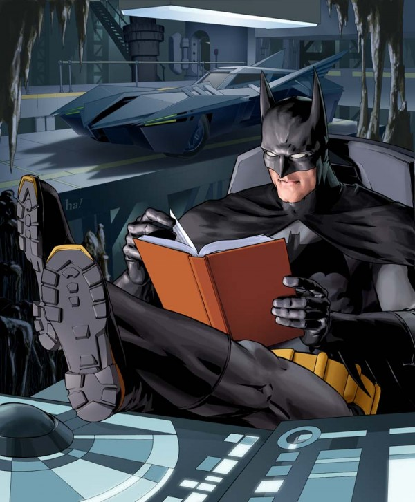 batmancaughtreading