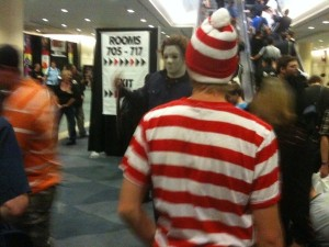 Someone's found Waldo... and they're going to kill him!