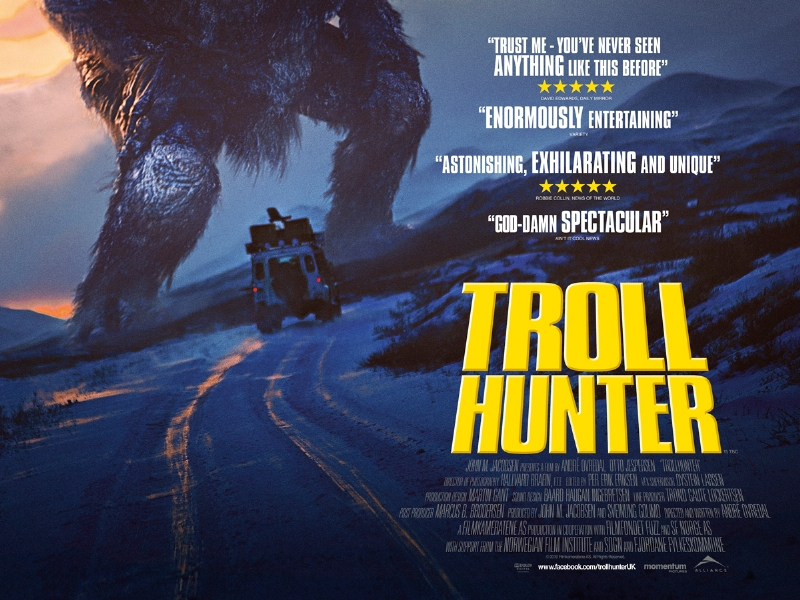 New UK Poster Arrives For Troll Hunter