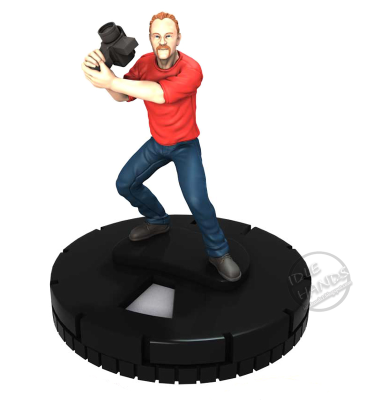 Joss Whedon  Stan Lee  Harry Knowles And Morgan Spurlock HeroClix    Harry Knowles Kevin Smith
