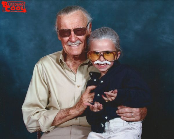 stan lee and child