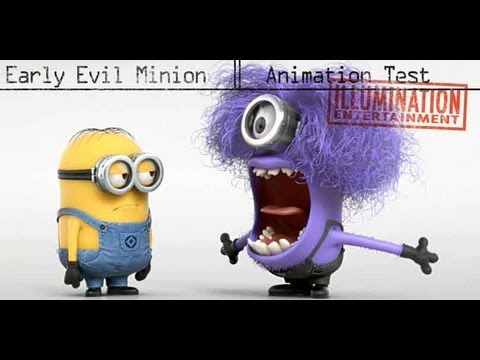 A Few Despicable Me 2 Videos Including A New Animated Title Card And Evil Minions Animation