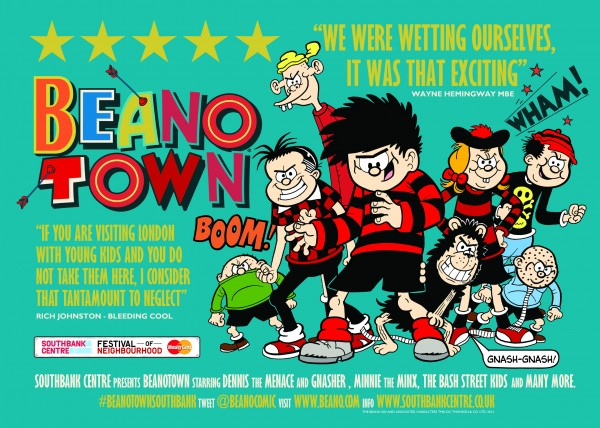 Beanotown Review Poster Small-Press