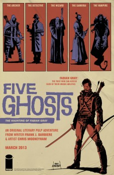 Five Ghosts poster