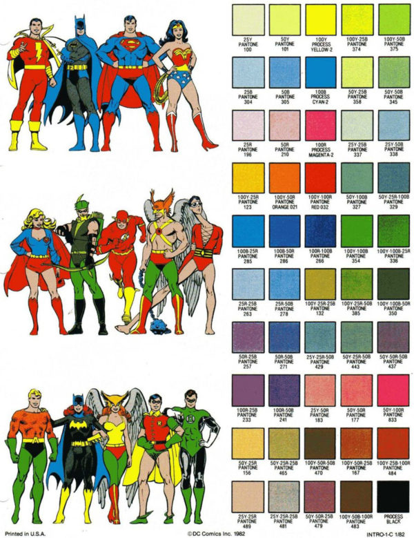 Late Night Fun - 1982 DC Color Guide - Bleeding Cool News And Rumors