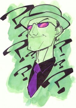 Riddler_Sketch_by_KidNotorious