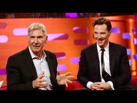 Video: Benedict Cumberbatch And Harrison Ford Brilliantly Fail To Deny Theyre In Star Wars Episode VII