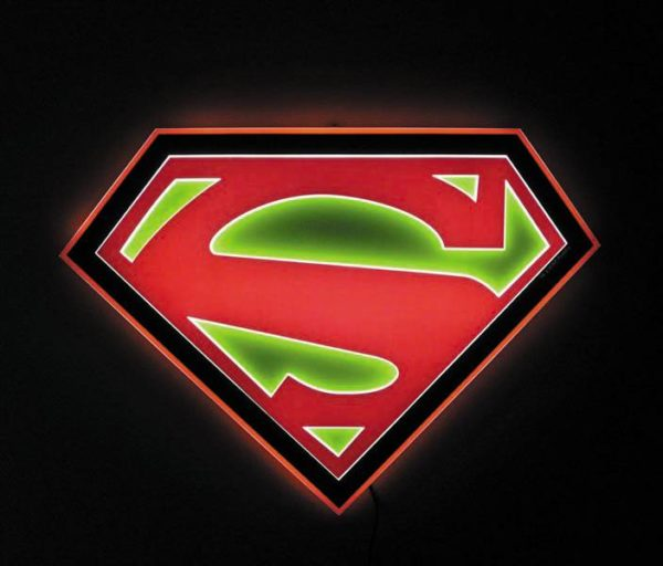 Will Your Comic Store Get A Superman Led Sign In The New Year