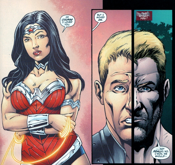 today s comics in love i blame superman wonder woman for argus