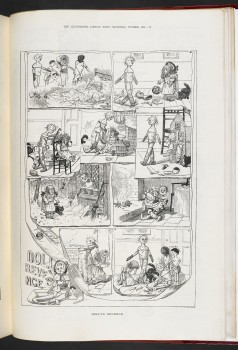 Illustrated London News (Christmas 1884), Dolly's Revenge (c) British Library Board