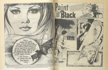 Misty – well known 1978 dark female comic book of supernatural and horror stories. Photography (c) British Library Board