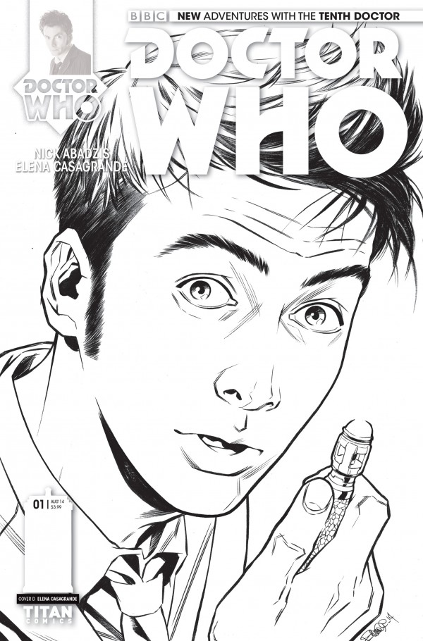 All The Covers To Doctor Who 1 From Titan Comics Both Of