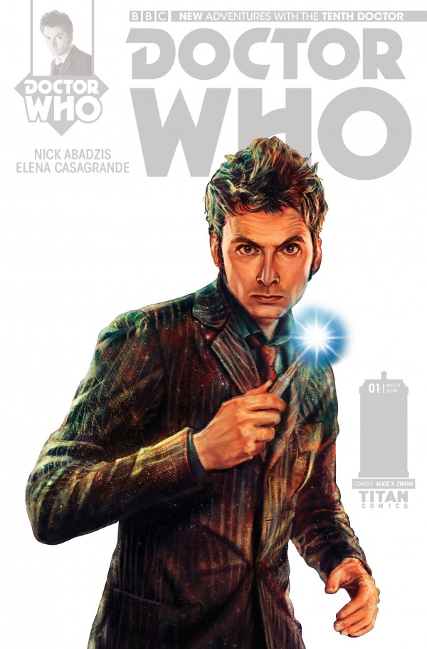 THE TENTH DOCTOR #1 - STARK COVER
