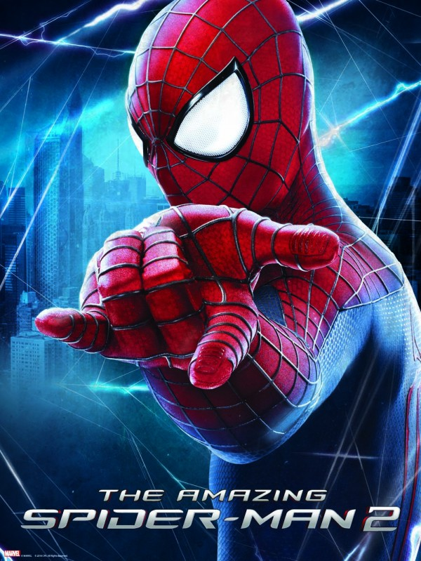 win an amazing spiderman 2 poster in this super easy