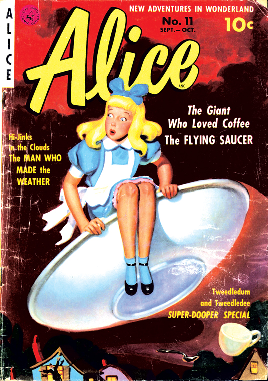 alice #11 sep-oct 1951 cover