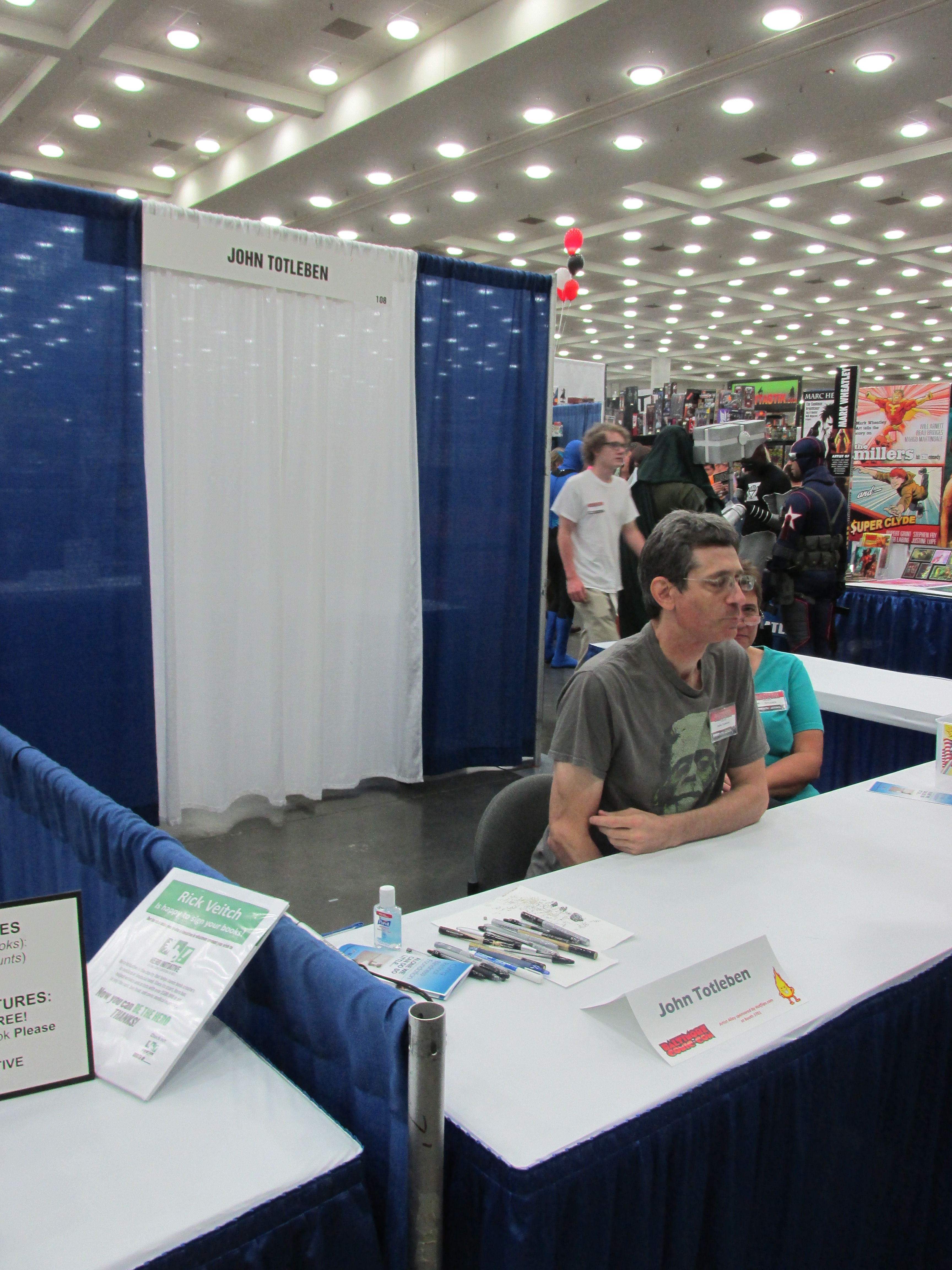 Two Score And More Photos Of Baltimore Comic Con On Opening Day