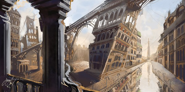 Lantern City – From TV Concept To Archaia Comic Book