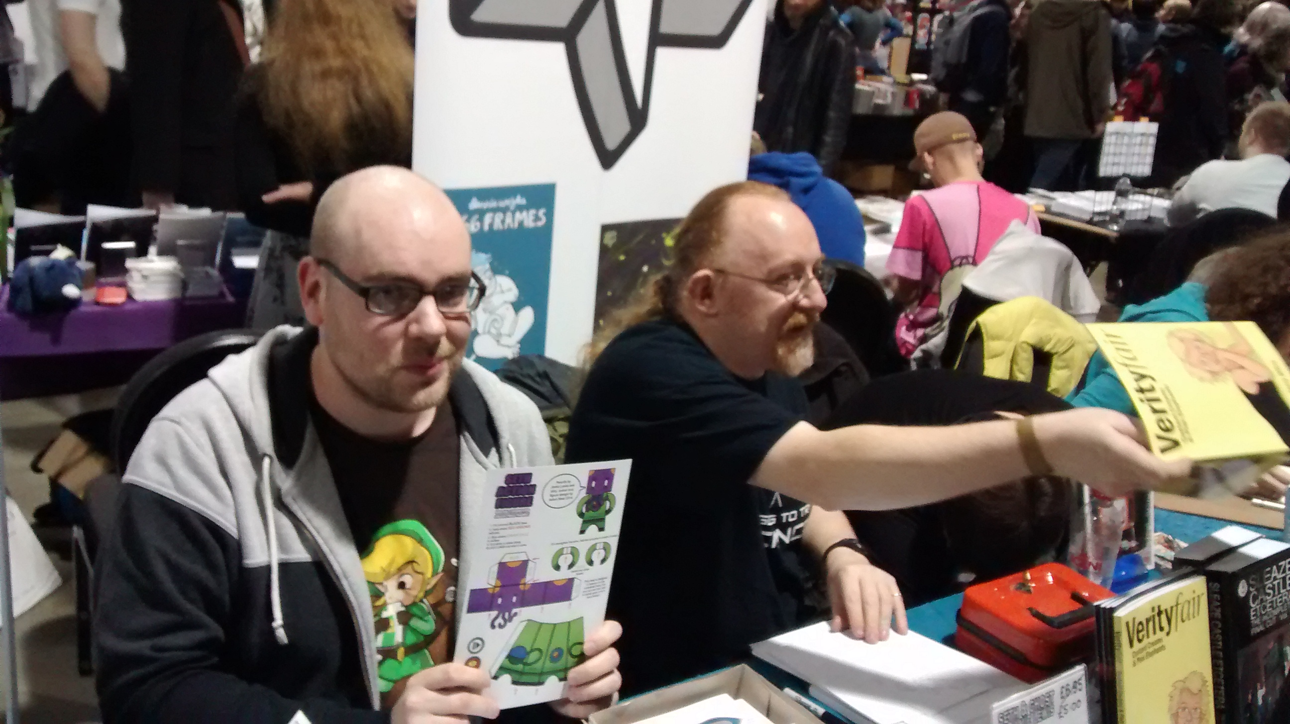 172 Table Shots From Thought Bubble 2014 – And From One Side Of The Show To The Other, Introduced By Mark Buckingham #TBF14