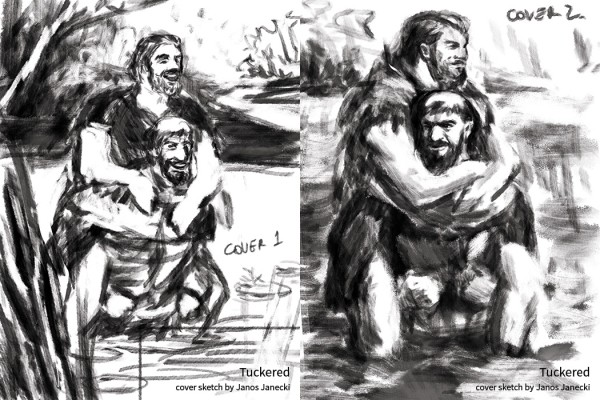 Tuckered-cover-sketches-by-Janos-Janecki