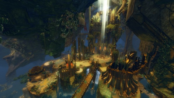 GW2 Heart of Thorns - Guild Hall - Gilded Hollow 2