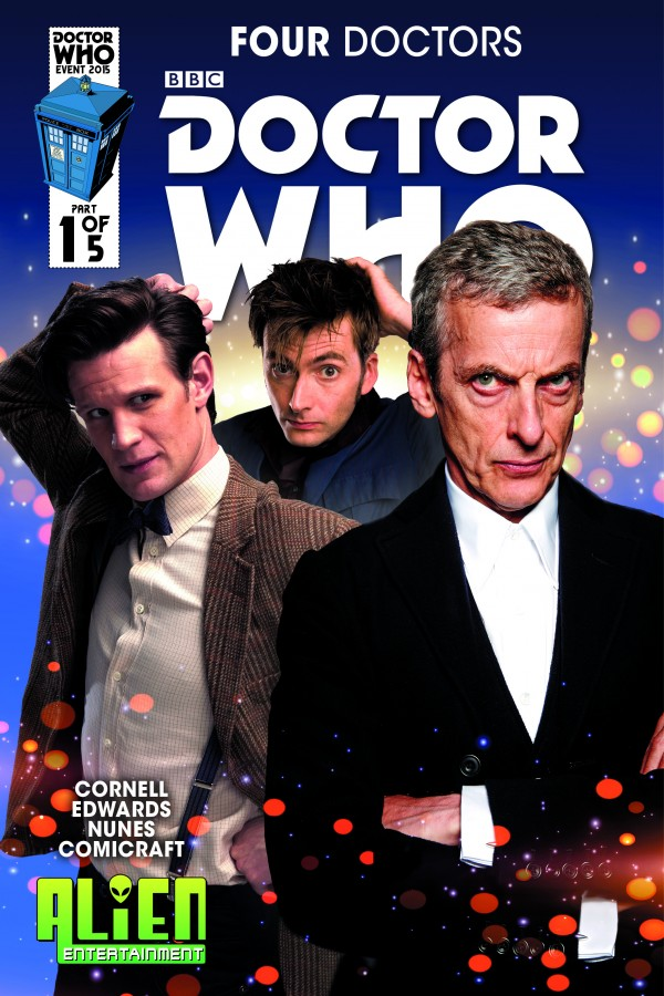 all 19 covers to titan s doctor who the four doctors 1