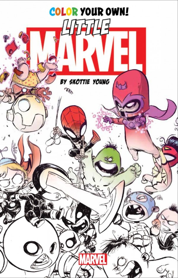 Marvel Trademarks \'Color Your Own\' For Comic Books - Bleeding Cool ...