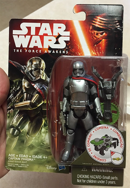 Hasbro Star Wars The Force Awakens Captain Phasma Action Figure 001