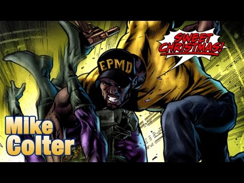 mike colter says sweet christmas luke cage style audio