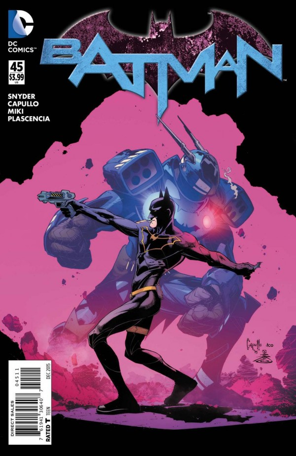 18th October 2015 – All-New All-Different Batman