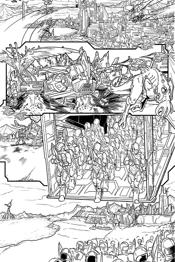 A New Threat Arrives In This Look Inside Voltron: From The Ashes #3