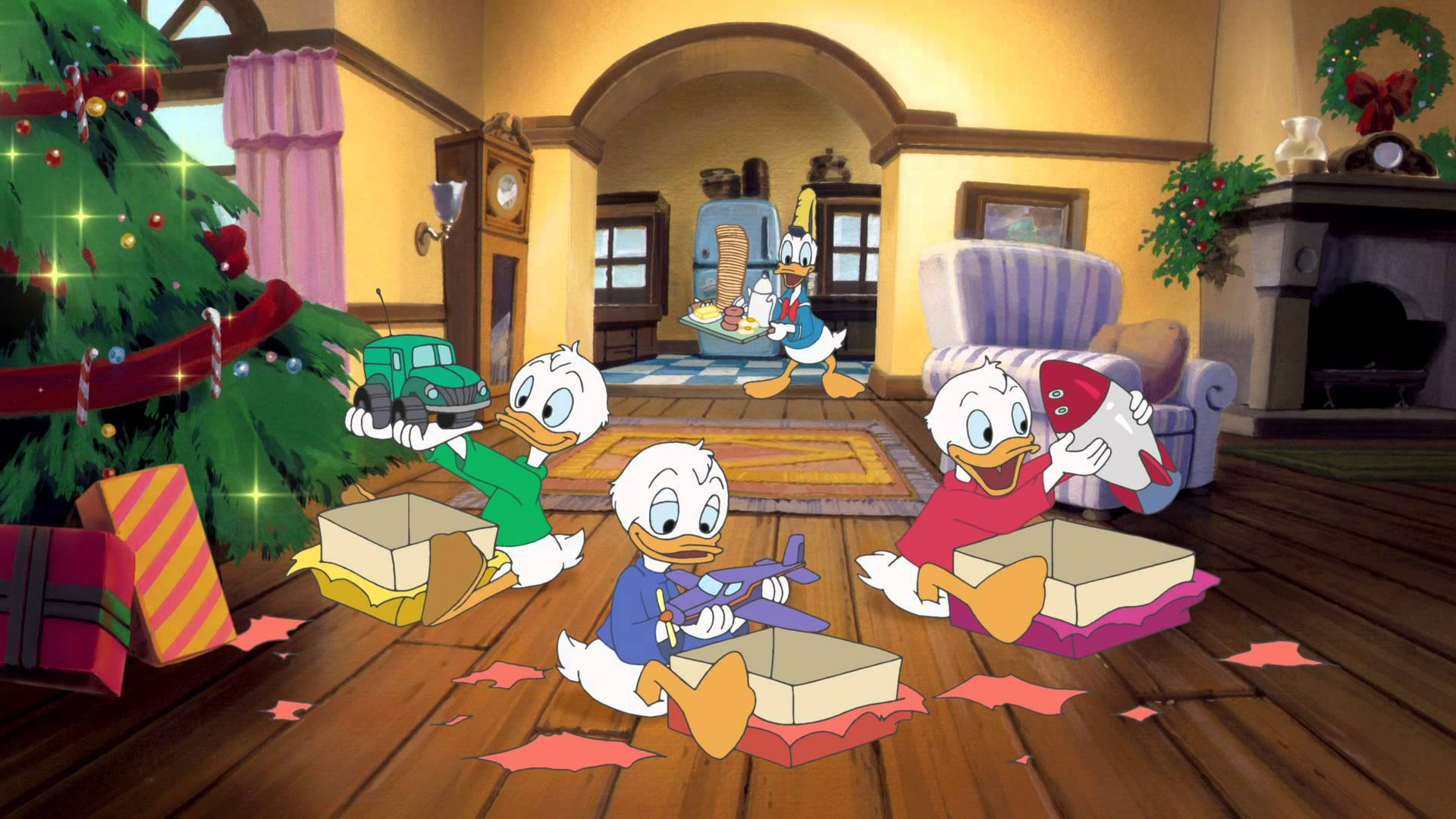 mickeys once upon a christmas features three shorts each one special in their own way donald duck stuck on christmas a very goofy christmas - Mickeys Once Upon A Christmas Vhs