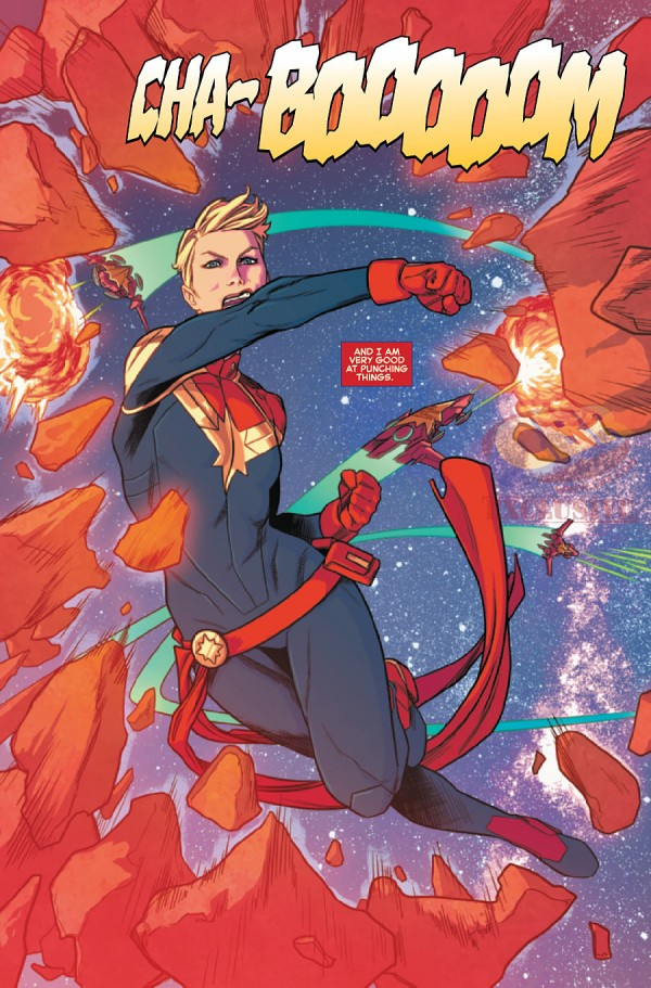captain marvel bio