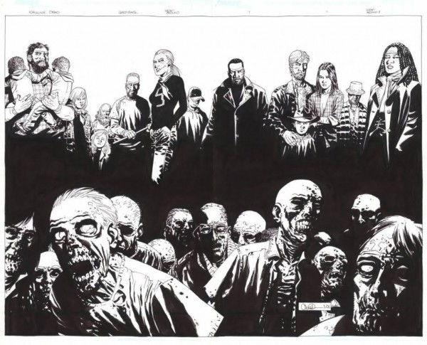 No Joke The Walking Dead Colouring In Comic Book Is Coming