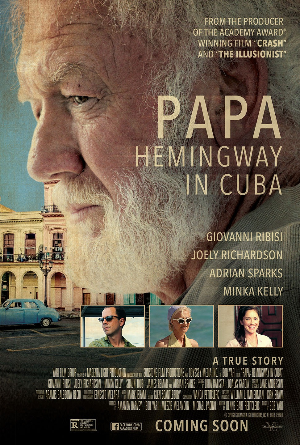 Giovanni Ribisi Naked papa: hemingway in cuba review- lost hemmingway never found