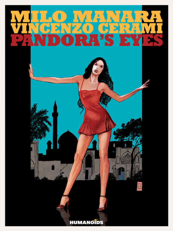 Pandoras Eyes (Color) Cover