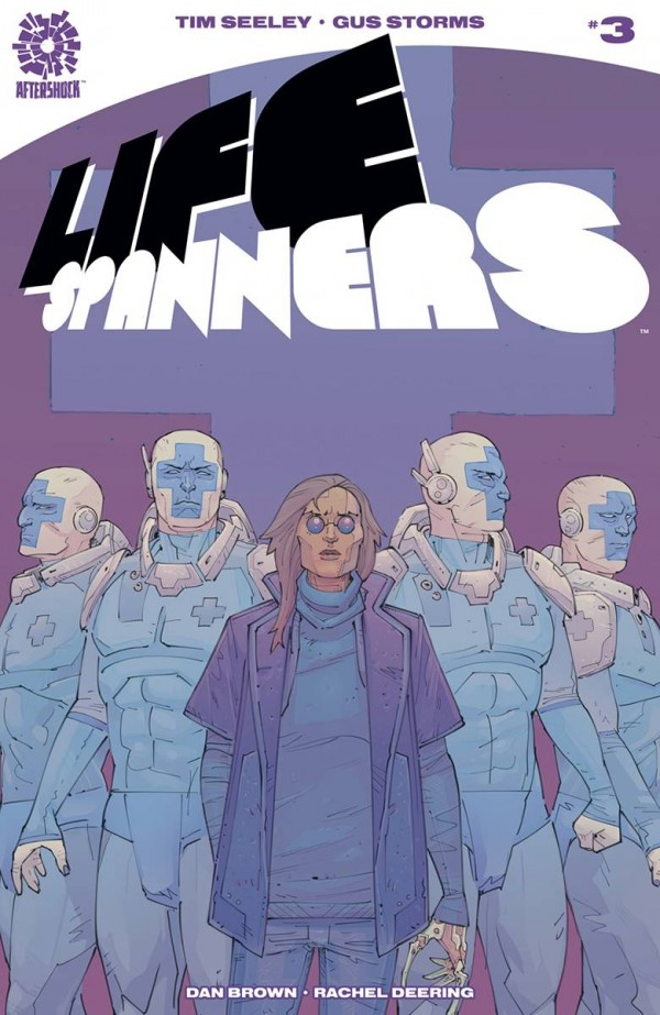 The World's First Transgender Superhero? Paul Jenkins And Leila Leiz's Alters From AfterShock In September