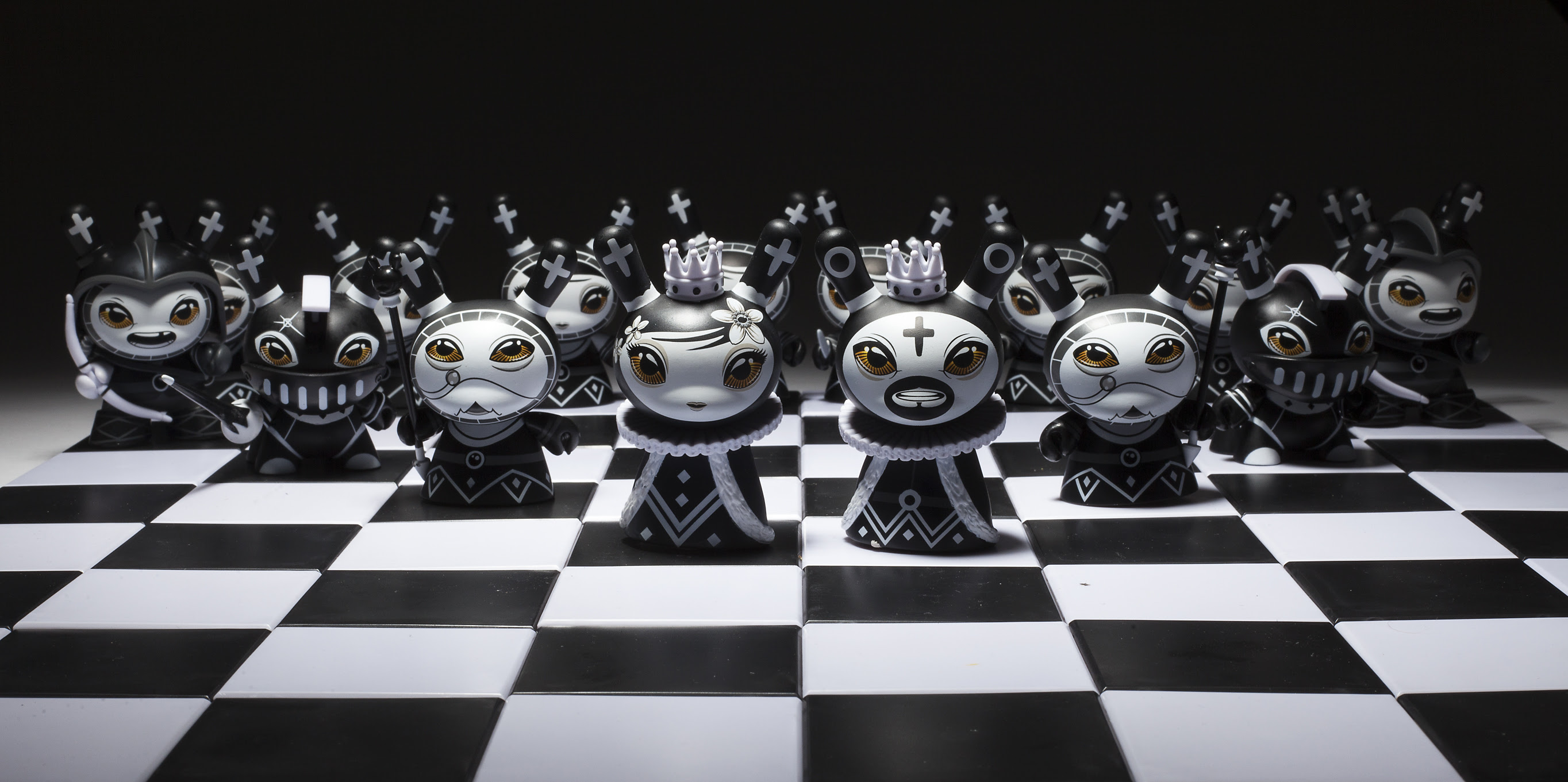 Otto Bjornik's Dunny Chess Set Series Is The Coolest Way To Play Chess   Bleeding Cool News And Rumors