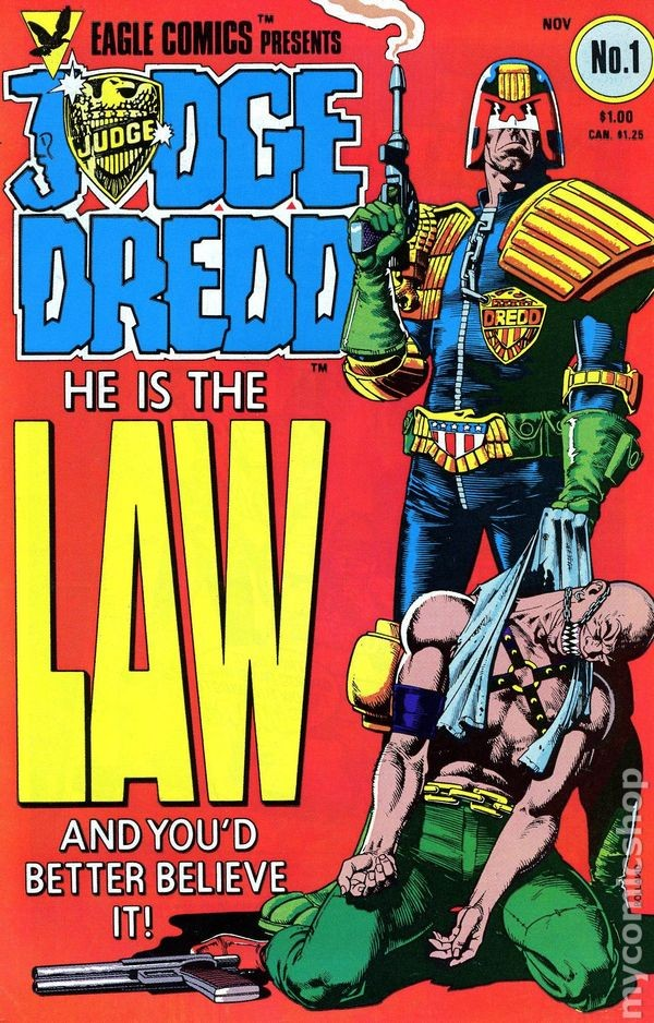 Image result for john wagner comics